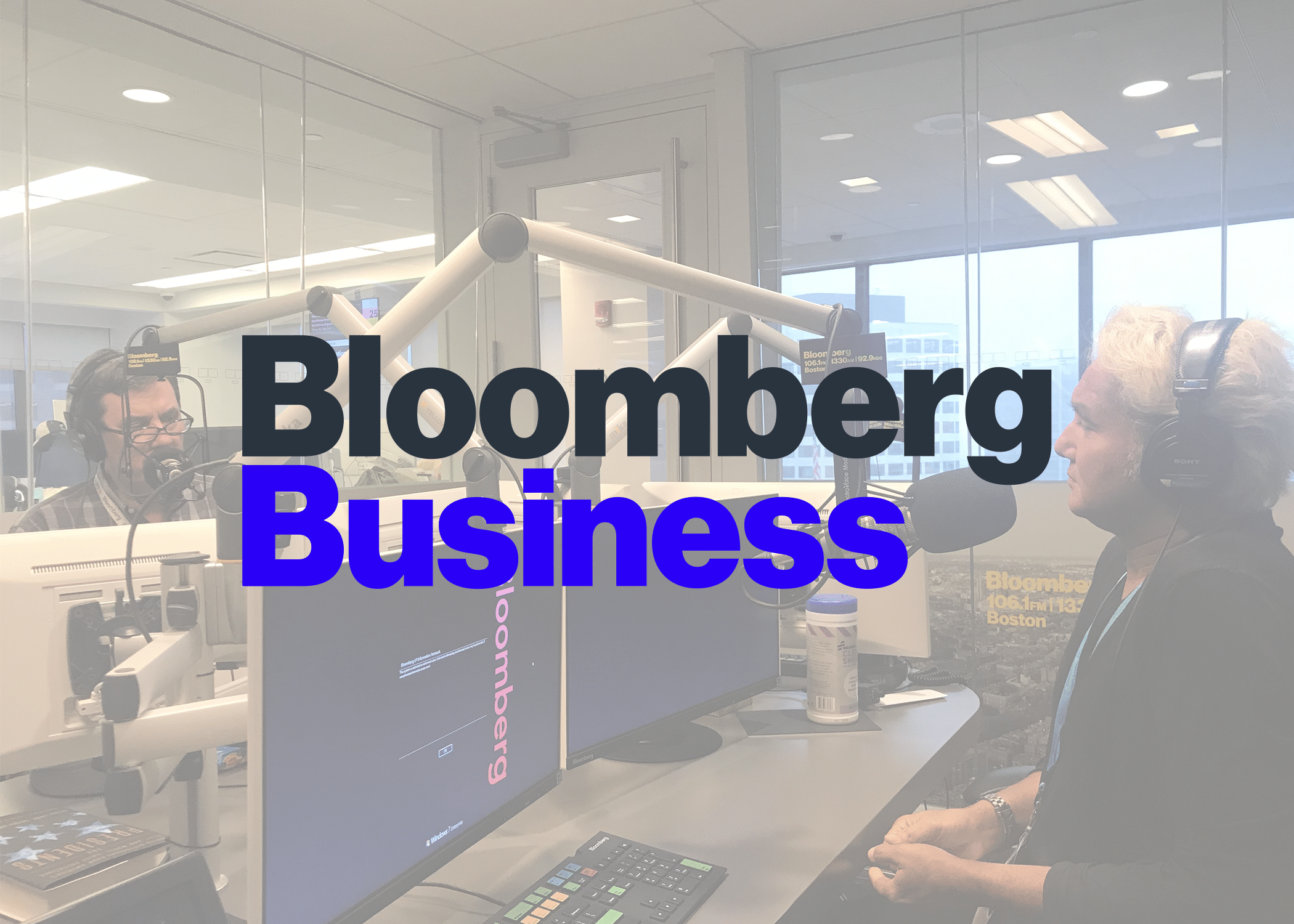 Bloomberg Baystate Business: Seaport and a Rising Sea (Radio)